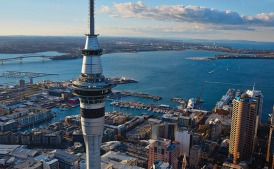 Auckland Sky tower - worth visiting day or night